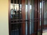 P03 Porta inferriata a due ante in stile classico